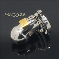 New Stainless steel metal male chastity cage cock cage penis...