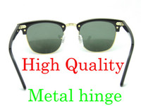 High Quanlity Sunglasses Metal hinge Sunglasses Plank black ...