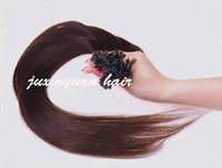 7A Klasse, hohe Qualität v Spitze Haarverlängerungen 0.8g / s 200s / lot 1 # 1b # 2 # 4 # 6 # 8 # 24 # 60 # 613 # 27 # 99j # indische Haarverlängerungen