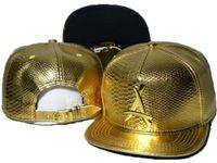 "Nowy Tha Alumni Gold ""A"" Logo Czapki Snapback Caps Mens Snapback Cap Hat Koszykówka Czapki Kości Snapbacks Hip Hop Hats Czapki"