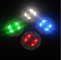 Lumière LED pour base de bong en verre Lumière LED 7 couleurs Réglage automatique en stock PLUS 100Pcs DHL gratuit