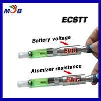 Newest E- cigarette Voltage Tester ECSTT for Evod EGO- C twist...