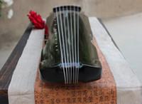 Chiński 7 String Instrument Fuxi Style Cithithither Instrument muzyczny Guqin Początkujący
