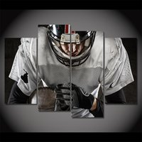 American Football, 4 Pieces Home Decor HD Printed Modern Art ...