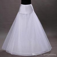 Бесплатная доставка на складе 1-обруч 2-слой тюль Алина нижняя юбка свадебные юбки нижняя юбка кринолины для свадебное платье