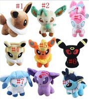 13cm Poke Plush Toys Doll Umbreon Eevee Espeon Jolteon Vapor...