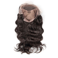 Z&F Hot Big Body Wave Human Hair Full Lace Wigs Bleached Kno...