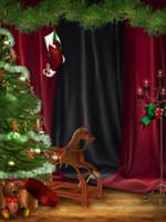 5x7ft Рождество Фото Фон Винил на заказ цифровой фотографии фоны SD-686