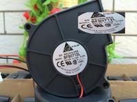El nuevo ventilador delta 7530 75 * 75 * 30 mm 1U2U servidor 12V0.10A BFB0712L 2 líneas ventilador silencioso turbo