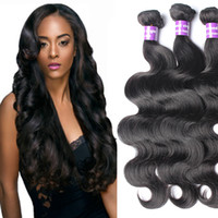 6A Brazilian Virgin Hair Body Wave No Tangle Brizilian Body ...