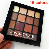 BEST 16 colors NYX ultimate eyeshadow Palette Ombre Eye shad...