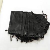 women fashion grid black bag pouch soft eyeglasses bag glasses case hot waterproof sunglasses freeshipping 100pcs/lot 18*9cm