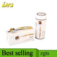 따뜻한 살롱 사용 티타늄 dermaroller ZGTS 192 바늘 meso roller for beauty