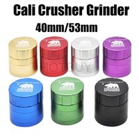 Grinders Cali Crusher Herb Grinder 40mm 53mm Aircraft Alumin...