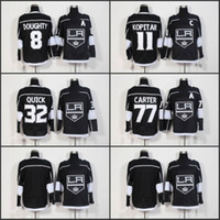 2018 New Los Angeles Kings Hockey Jerseys 11 Anze Kopitar 8 ...