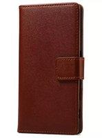 Di alta qualità per Sony Z5 Case Cover protettiva di lusso sottile colorato Flip portafoglio custodia in pelle per Sony Xperia Z5 E6603 E6633 E6653 E6683