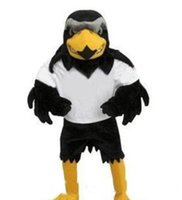 2018 Professional custom-made Deluxe Plush Falcon Traje Da Mascote Adulto Tamanho Águia Mascotte Mascota Carnaval Partido Cosply Costum