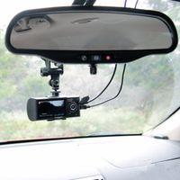 """R300 2.7 """"LCD Wide Angle Alta Definição Dual Lens Dash Câmeras Câmera do Carro GPS Logger e G-sensor R300 Carro DVR R300"""