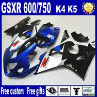 Hot koop! Voor 2004 2005 Suzuki GSXR 750 Fairing Kit 04 05 GSXR 600 -ballen, gratis Personaliseer + 7 Geschenken