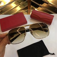 Luxury Sunglasses Square Frame 0704 Popular UV Protection Le...