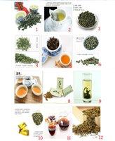 24 Çanta Çin TOP Sınıf Çoklu Tatlar Çay Dahil Siyah / Yeşil / Yasemin Çay / Puer / Tieguanyin / Dahongpao Oolong Çay Tercih