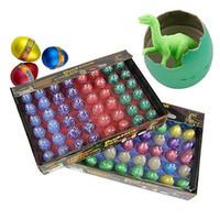 بيض عيد الفصح ديناصور اللعب ديناصور بيض عيد الفصح مجموعة متنوعة من الحيوانات البيض يمكن أن يفقس الحيوانات اللعب الإبداعية حار بيع