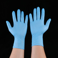 Disposable Nitrile latex gloves 5 kinds of specifications op...