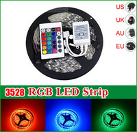 LED Strip 3528 Waterproof 5m 300LEDs (60LEDs m) RGB Single C...