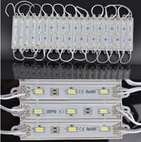 Module étanche LED SMD 5630 module rétro-éclairage LED module blanc DC12V 1.5W 3 led 45lm led gratuite