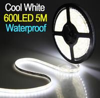다운 가격 SMD 5050 방수 60Leds / m LED 스트립 유연한 테이프 스트립 라이트 핑크 / 옐로우 / 화이트 / 따뜻한 화이트 / 레드 / 그린 / 블루 파워
