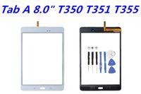 OEM для Samsung Galaxy Tab A 8.0 T350 против T351 T355 сенсорный экран Digitizer стекло объектива с клейкой лентой запасные части