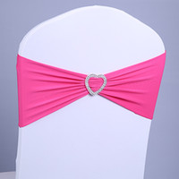 Wedding chair covers rhinestone ribbon heart buckle with the finished product back elastic bow tie chair cover decorative  sc 1 st  DHgate.com & Wholesale Bow Tie Chair Covers - Buy Cheap Bow Tie Chair Covers 2018 ...