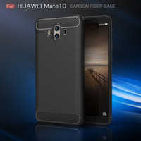 Carbon Fiber Case For Huawei Honor 7X Head 6 Mate 10 Lite V9...
