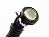 1 adet 3 W LED Kartal Göz Beyaz Işık Gündüz Koşu DRL Kuyruk Yedekleme Işık Araba Motoru