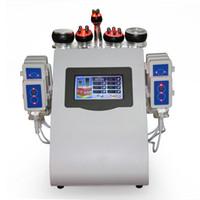 Chegada nova Máquina de Emagrecimento Profissional RF Terapia de Vácuo Corpo Shaping Lipolaser Para Queimar A Gordura 6 em 1 Para O Uso Do Salão de Spa