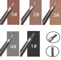 Double- end Automatic Eyebrow Pencils Waterproof Long Lasting...