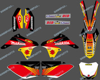 0150 New TEAM GRAPHICS & BACKGROUNDS DECALS STICKERS Kits fo...