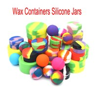 Silicone Jar Containers 22ML 7ML 5ML Non- solid Silicon Jar W...