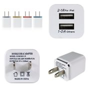 Meatl Dual USB Wall charger US Plug 2. 1A Power Adapter Wall ...