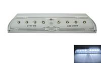 Lámpara del bulbo auto de PIR ojo de la cerradura Super White sensor de movimiento 8 Leds Cajón de Luz envío