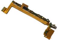 Prueba aprobada para Sony Xperia Z5 Compact mini VS Z5 Interruptor de volumen superior de alimentación Botón Sensor de huella digital principal Cable flexible Pieza de repuesto OME
