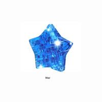 Juguetes para niños Juego de rompecabezas de cristal en 3D Aprendizaje educativo para niños