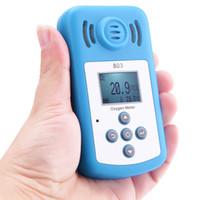 Freeshipping Güzel Oksijen (O2) Konsantrasyon Dedektörü Mini Oksijen Ölçer Gaz Analizörü LCD Ekran ve Ev Güvenlik için Ses-ışık Alarmı