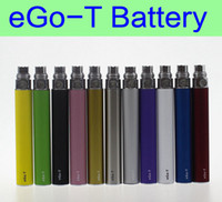 10 pcs Lot eGo- t battery eGo 650mah 900mah 1100mah batteries...