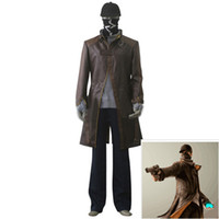 2017 new hot Watch Dogs clothes watchdog Cosplay Eden windbr...