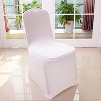 Wholesale 100pcs Universal Polyester Spandex Wedding Chair C...