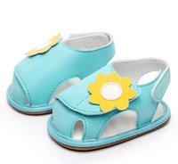 New Sweetly baby girls sandals Rubber bottom first walker sh...