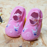 Cotton Cute Design Animal Image Baby Socks With Rubber Soles...