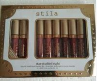 Stila Stay Day Sparkle All Night Liquid Lipstick Lip Gloss Holiday Kit 6PC Set DHL SHIP