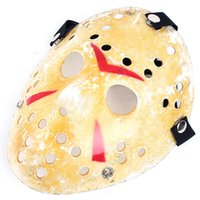 Masques De Fête Vintage Or Délicat Jason Voorhees Freddy Hockey Festival Halloween Mascarade Masque Livraison Gratuite TY913
